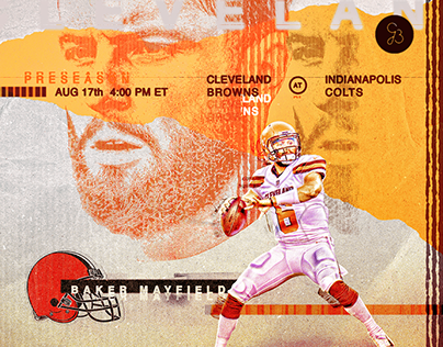 NFL Preseason - Cleveland Browns Baker Mayfield graphic