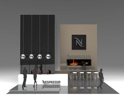 Nespresso Trade Show Booth Concept