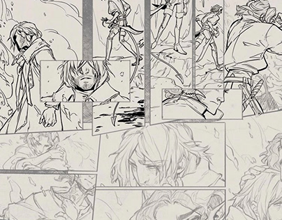 Inking /Lineart for Comics