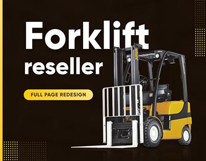 Forklift reseller