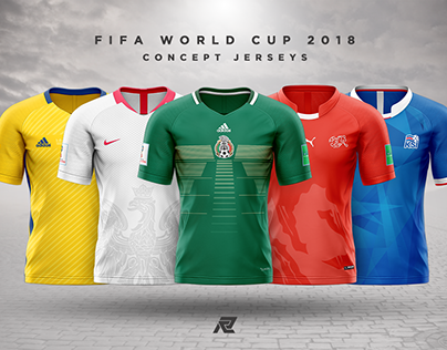 FIFA WORLD CUP '18 // CONCEPT JERSEYS