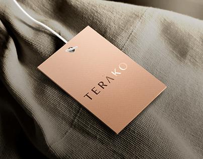 TERAKO Boutique Clothing Logo Development