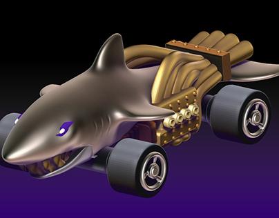 sharkruiser - hotwheels