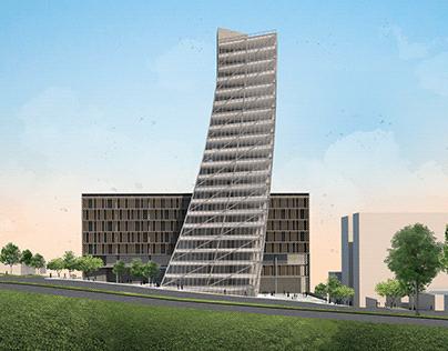 Edifício Corporate + Hotel - Atelier de Projeto VII