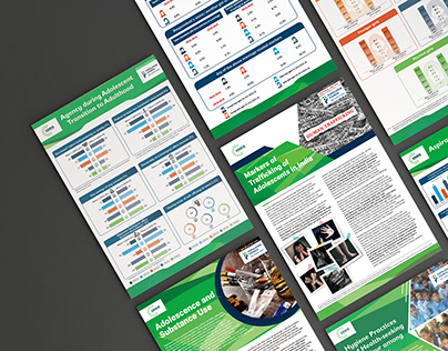 Monthly Newsletters and Infographics