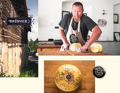 Visual identity of a small family Farm Držovice