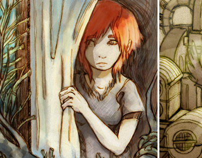 Nest - comic pages