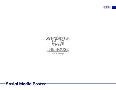 THE HOUSE üçün hazırlanmış sosial media posterləri