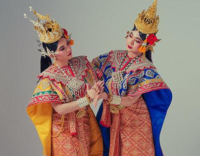 40 Character of Thai performance artproject