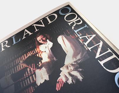 漫遊者文化出版 - 歐蘭多:一部穿越三百年的性別流動史詩 ( 維吉尼亞•吳爾芙 著 ) 書籍裝幀設計