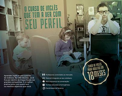 UNS Idiomas | Campanha 2015