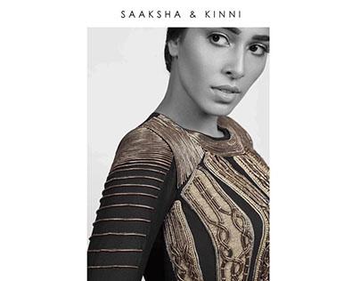 """SAAKSHA & KINNI """"FEROX"""" A/W '16 Lookbook"""