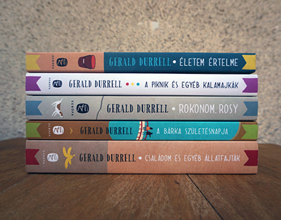 Gerald Durrell Book Covers