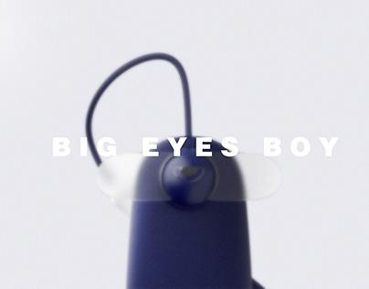Big eyes boy