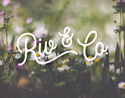 Riv & Company Brand Identity