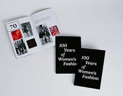 Women's Fashion Zine