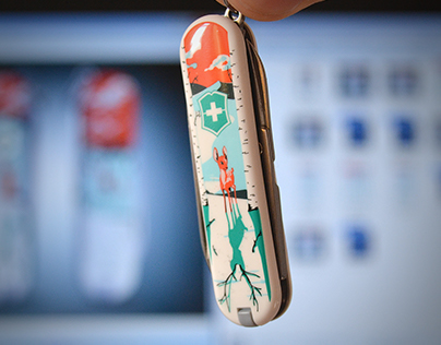 THEY'LL GROW, DEER! Victorinox Limited Edition 2015