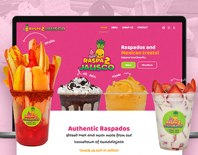 Website Raspados Jalisco
