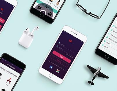 Maqcion (Mobile app screens)