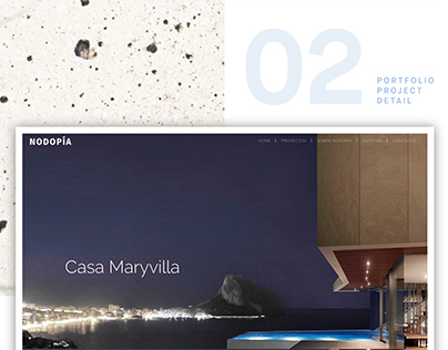 Art Direction & Web Design for Nodopía Architecture