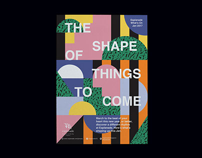 Esplanade What's On Jan'17: The Shape Of Things To Come