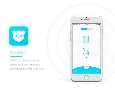 B.B Alarm APP design