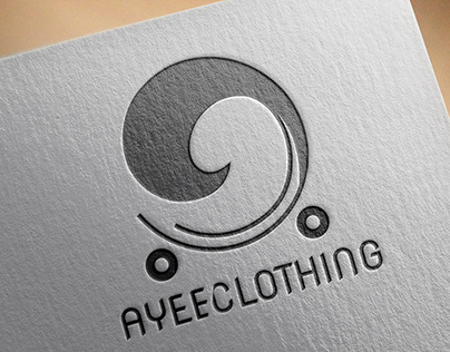 Logo Design for a Clothing Line brand: Ayee Clothing