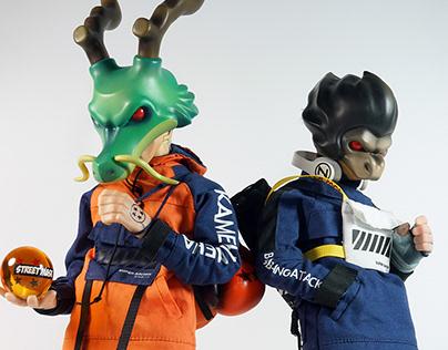 GAROT & VITTA 夢の格鬥家