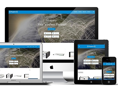 Truparu - UI/UX, Responsive Website Design