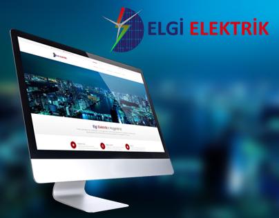 Elgi Elektrik Web Page