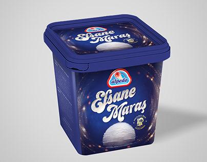Alpedo Cornet Ice Cream Packaging