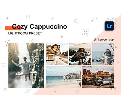 Cozy Cappuccino - Lightroom Presets - Filteroom app