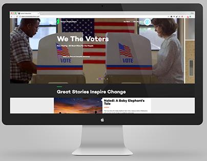 Vulcan Productions   Website Redesign