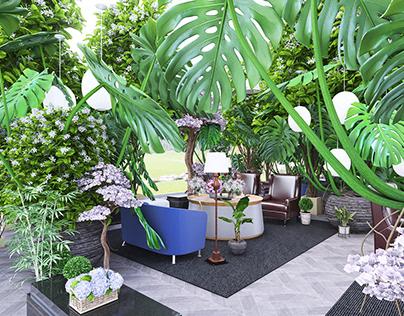 Backyard Wedding Decor - Virtual Design