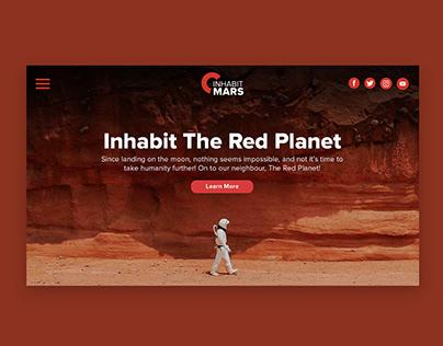 Inhabit Mars Branding Project