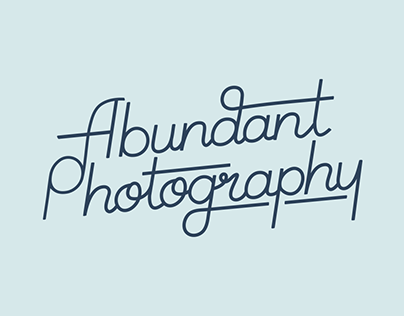 Abundant Photography Branding