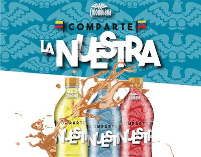 "Colombiana ""Comparte la Nuestra"""