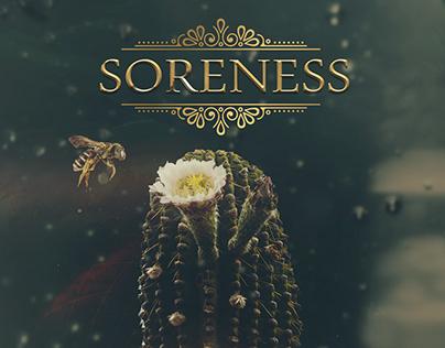 SORENESS - book cover
