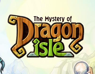 Logo for game «Dragon esle»