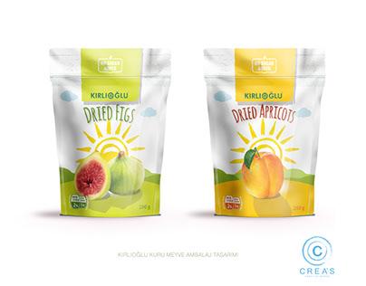 Kuru meyve ambalaj tasarımı. Dried fruit package design