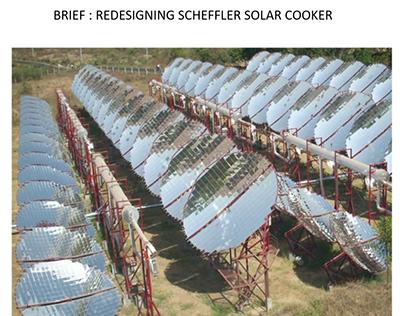 Redesigning Scheffler Solar Dish