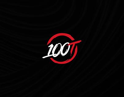 100 Thieves Fortnite Headers
