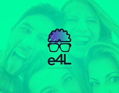 e4L - Education For Life   Logo