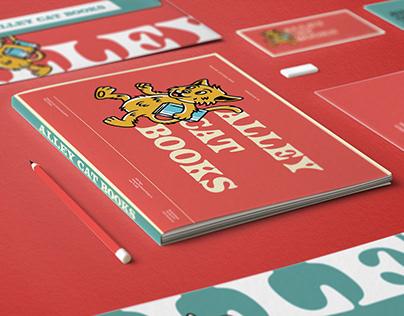 Alley Cat Books - Brand Identity