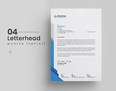 Letterhead Template Bundle