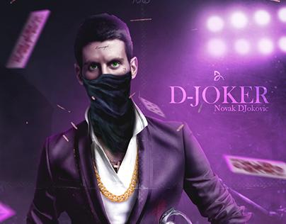 Novak Djokovic as Joker