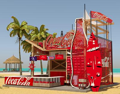 Coca Cola Summer #21 Booth