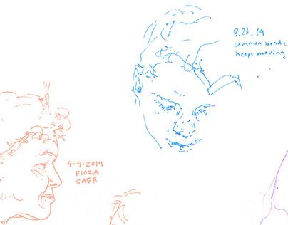 Stabilo Portraits
