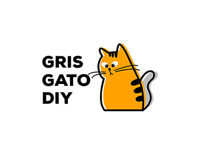 Логотип Gris Gato Diy