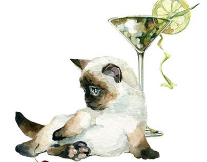 """""""Martini Glass"""""""